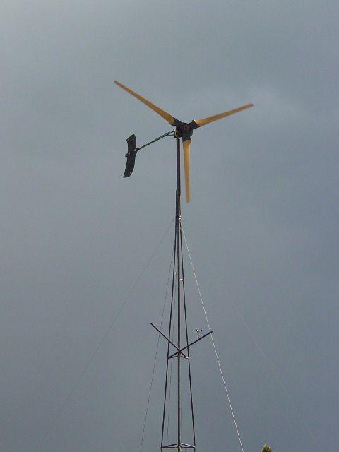 自制风力发电机