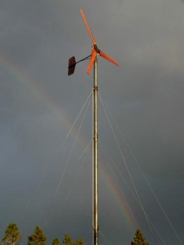 20' wind turbine