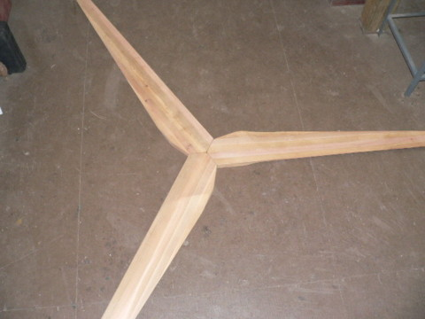 News Info: Free How to make wind turbine blades out of wood