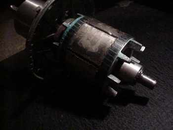 induction motor conversion
