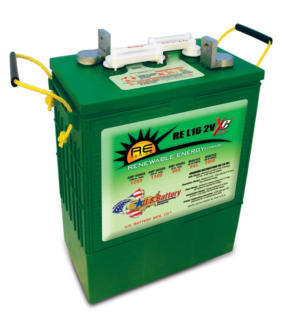 Guide To Choosing Off Grid Batteries Otherpower 12 Volt Golf Cart Battery Wiring Diagram 2 Commercial Grade L 16