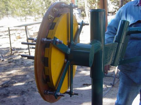 Stator mounted