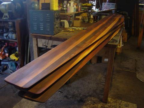 Wooden blades