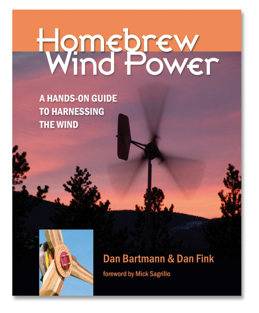 Homebrew Wind Power book cover