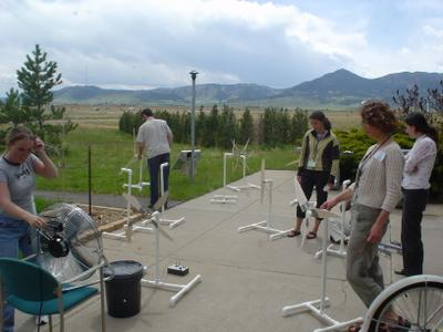 Kidwind seminar at NREL NWTC, Golden, CO, 2005