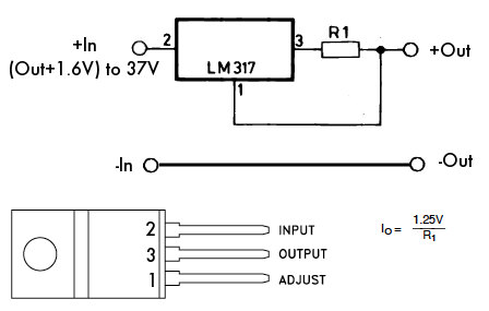 lm317 home built led lighting otherpower 12v led circuit diagram at mifinder.co