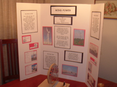 science fair booth display