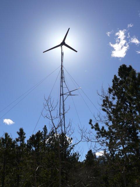 17' wind turbine
