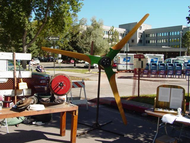 10' diameter wind turbine