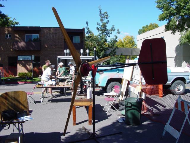 wind generator and workshop