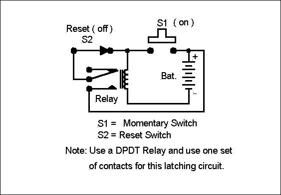 Wiring Diagram For A Latching Relay : V latching relay wiring diagram