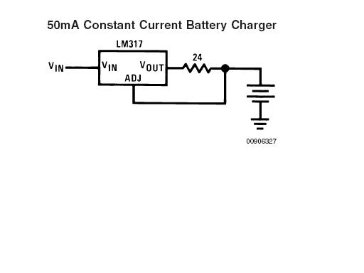 Variable input using the LM317 regulator question