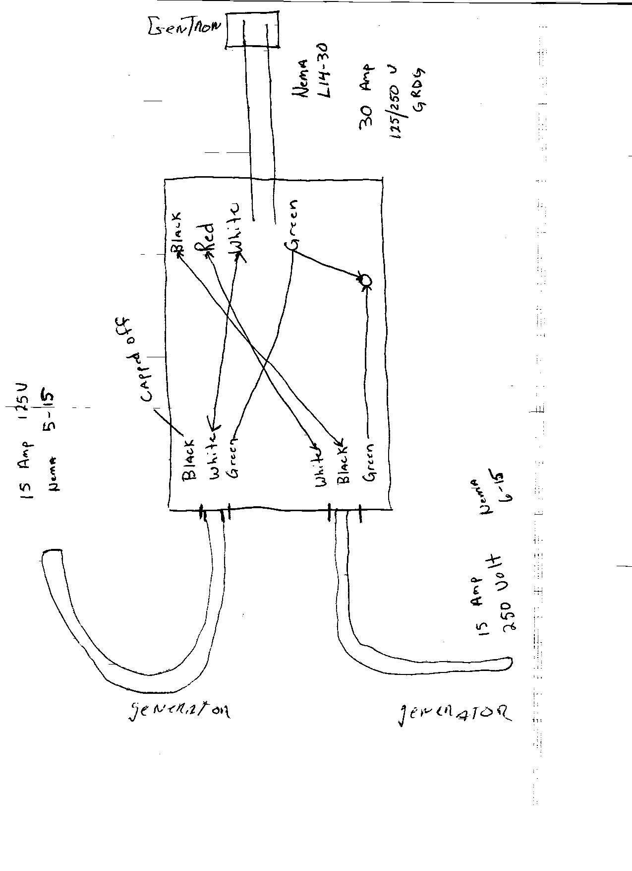 Generator Backfeed Breaker Switch Wiring Diagrams
