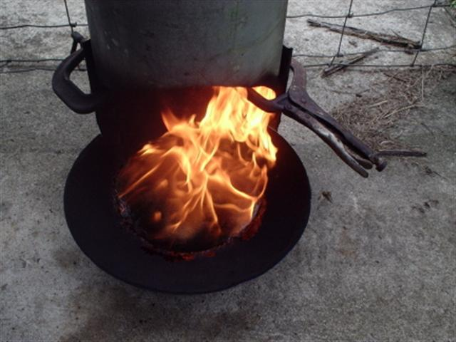 Starting Waste Oil Furnace
