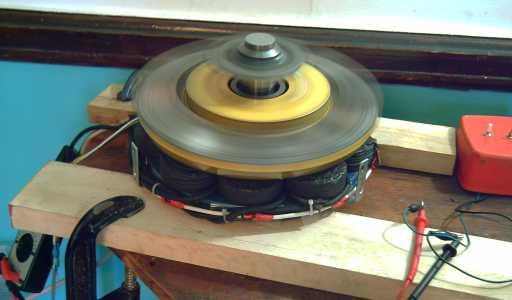 Electric Hubcap Axial Flux Motor Motor Controller Update