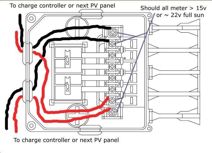 energy saving diy solar panel blocking diode
