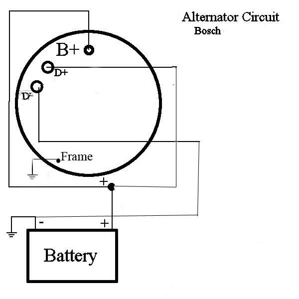 Wiring Diagram Alternator Bosch, Bosch 24 Volt Alternator Wiring Diagram