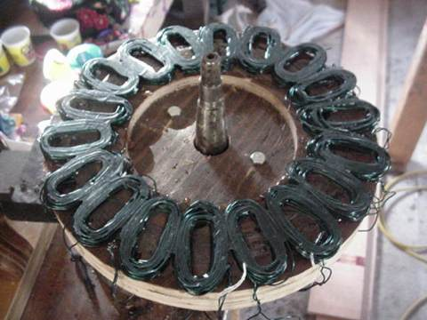 finished stator