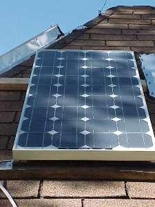 BP 75 Watt Solar Panel