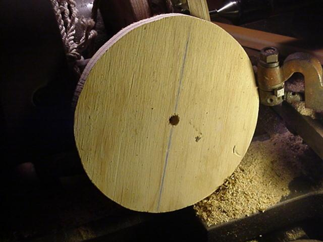 plywood disc