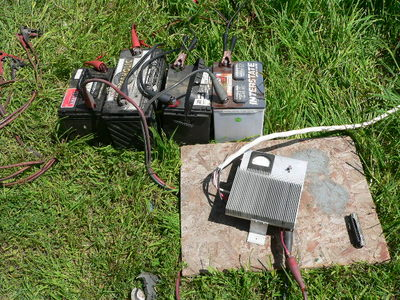 field expedient 48 volt battery bank