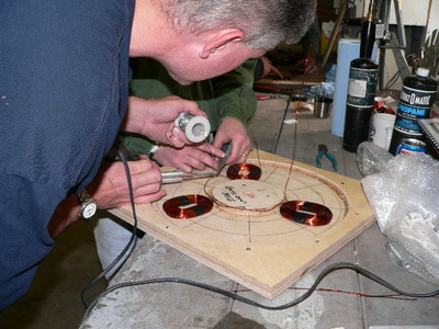 wiring one phase of the stator